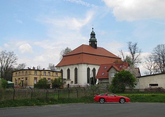 Kościół pw. Matki Boskiej Nieustającej Pomocy z XVIII wieku w Siedlęcinie.