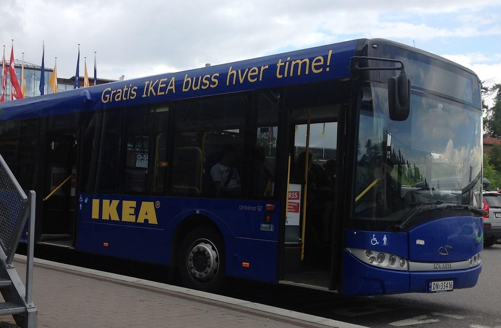 ikea bus stop oslo