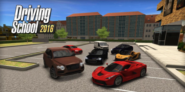 Download Driving School 2016 Mod Apk v1.7.0 Unlimited Money