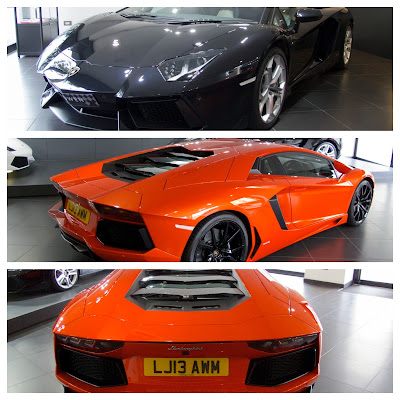 Two Lamborghini Aventadors in London | Nothing Really Special