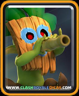 Goblin com Dardos - Nova carta Rara