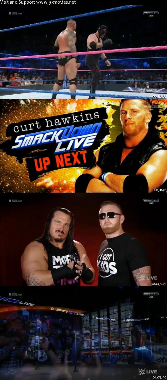 WWE Smackdown Live 18 Oct 2016 HDTV 480p