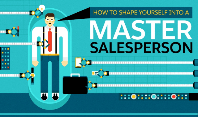 How to Shape Yourself into a Master Salesperson