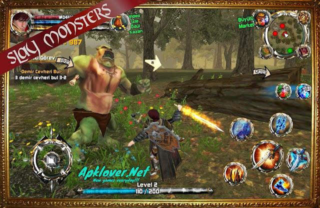Kingdom Quest: Crimson Warden MOD APK unlimited money