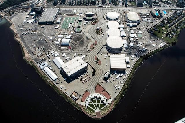 Parque Olímpico da Barra chega a 99% de conclusão