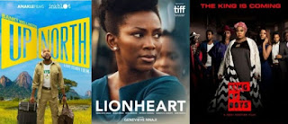 'Up North', 'Lionheart', 'King Of The Boys' Billed For Screening In The US  The Nollywood movies, 'Up North', 'Lionheart' and 'King of Boys' have been selected for screening at the second edition of the 'Nollywood In Hollywood' on Friday and Saturday in the United States.