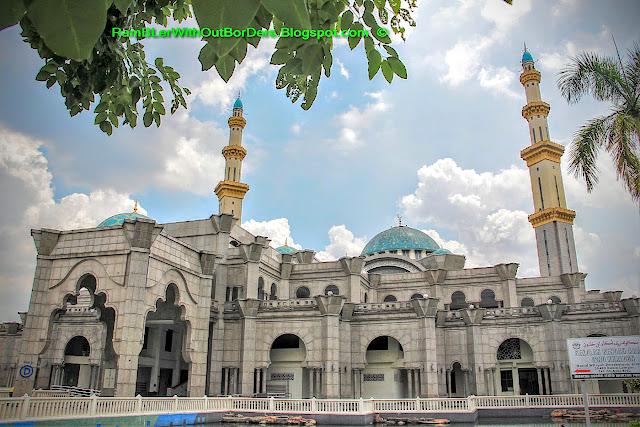 Wilayah Mosque, KL, Malaysia