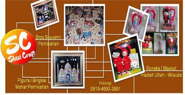 Shisi Craft, Solusi Mahar Pernikahan Anda!