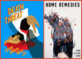 Reviews of Death Threat by Vivek Shraya and Home Remedies by Xuan Juliana Wang