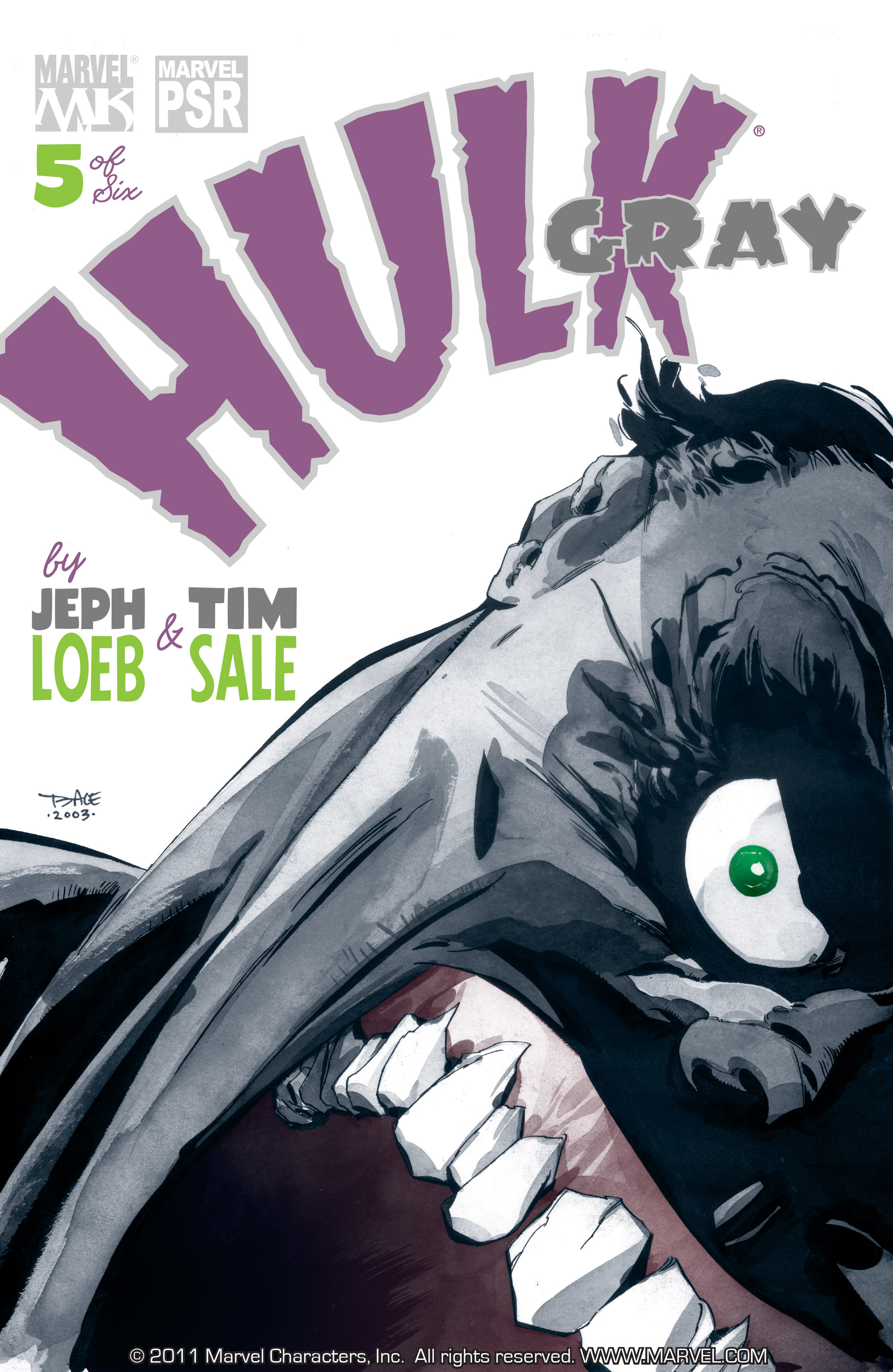 Read online Hulk: Gray comic -  Issue #5 - 1