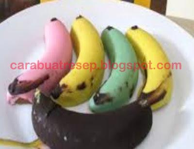 Foto Resep Banana Steam Cake Warna Warni Lembut dan Empuk Sederhana Spesial Asli Enak