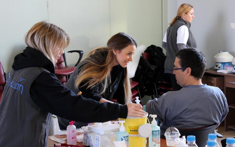 Η +πλευση προσέφερε δωρεάν ιατρικές εξετάσεις στους κατοίκους της Σαμοθράκης