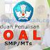 Panduan Penulisan Soal Untuk SMP/MTs
