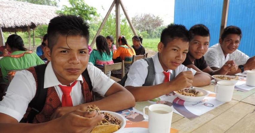 QALI WARMA: Estudiantes de Jornada Escolar Completa de San Martín tendrán desayunos y almuerzos - www.qaliwarma.gob.pe