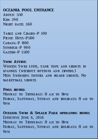 Island Cove Resort Cavite Rates