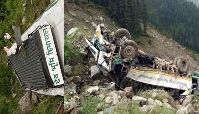 Accident in kullu