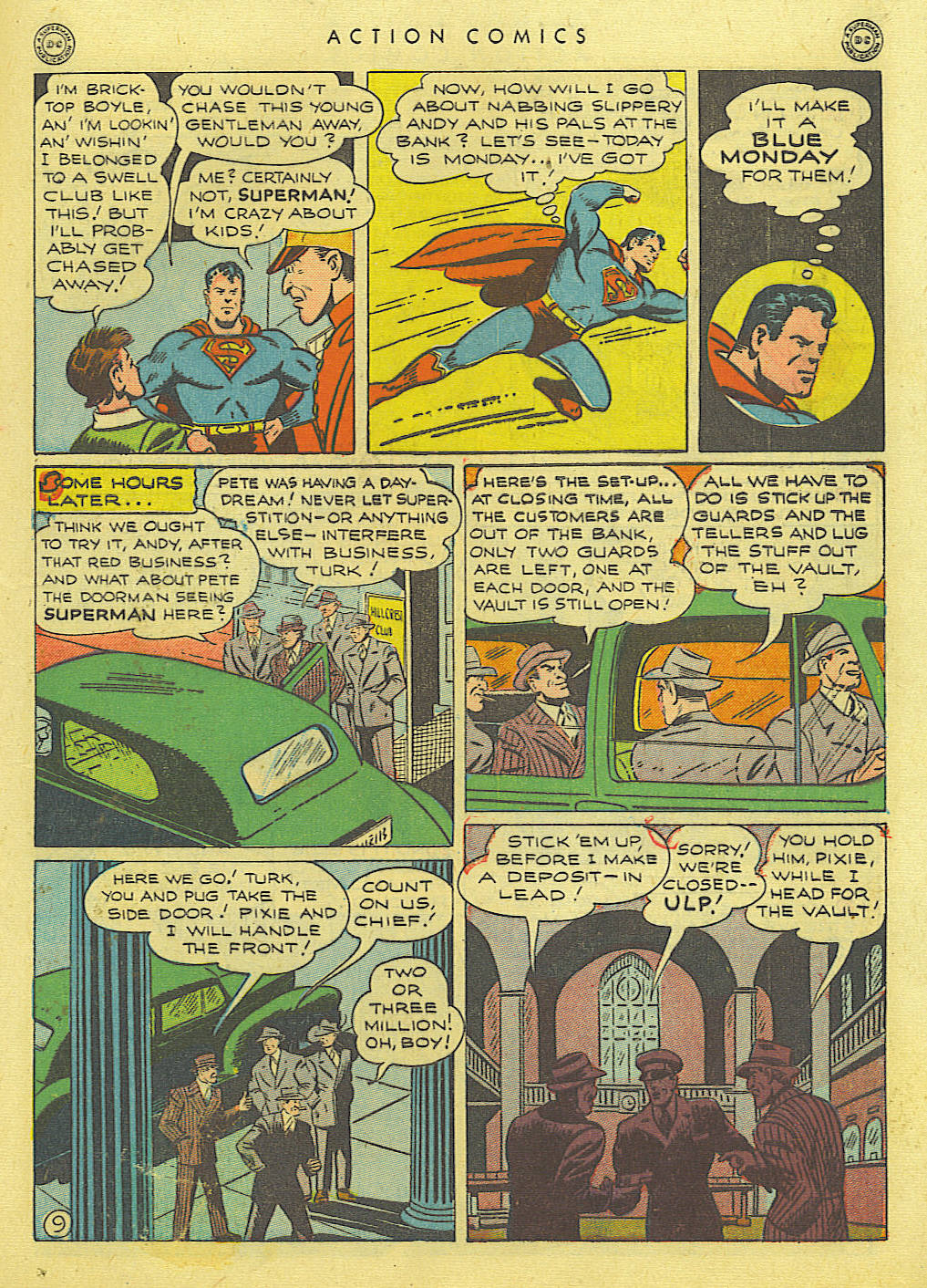 Read online Action Comics (1938) comic -  Issue #89 - 11