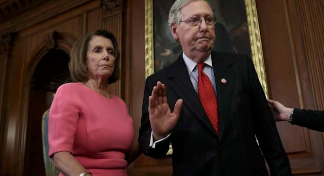 Nancy Pelosi calls out Mitch McConnell for 'racist' tactics
