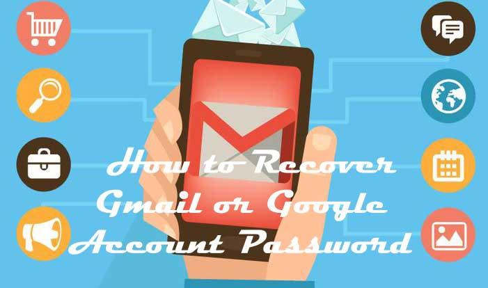 Gmail Account Ka Password Recover kaise kare-How to Recover Gmail Account Password