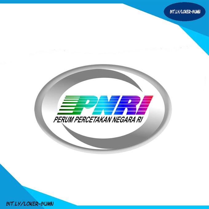 Rekrutmen Lowongan Kerja Perum PNRI