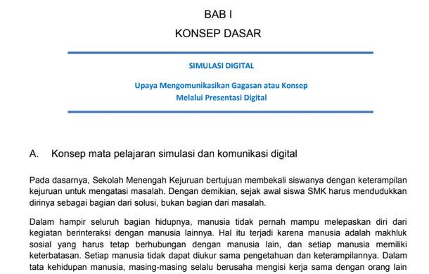 Buku Simulasi dan Komunikasi Digital