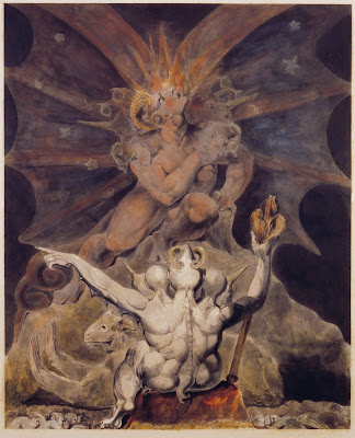 El número de la Bestia es 666, William Blake