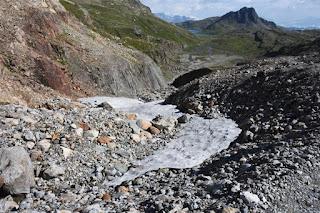 Moraine du Glacier