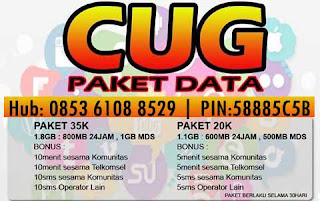Paket Internet CUG Telkomsel (CUG DATA)
