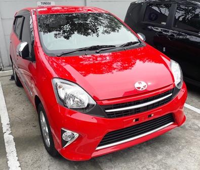 Kredit Toyota Agya New Facelift 2018