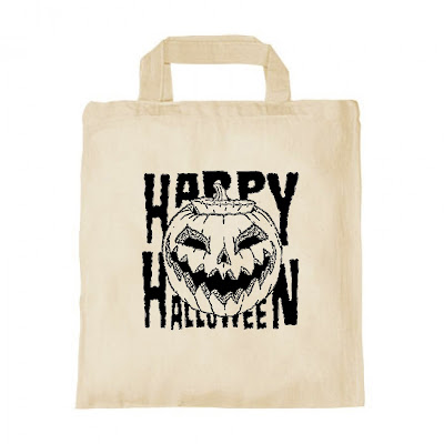 Cotton Bag Happy Halloween