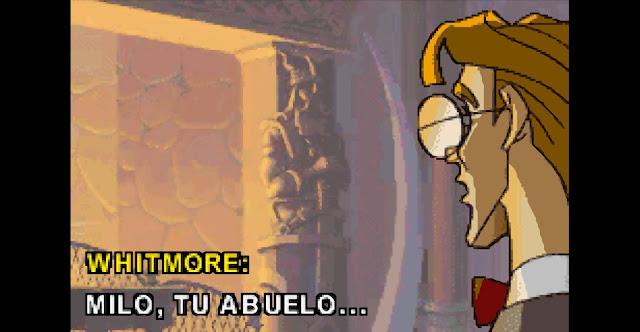 Atlantis: El imperio perdido GBA - Español - Captura 2