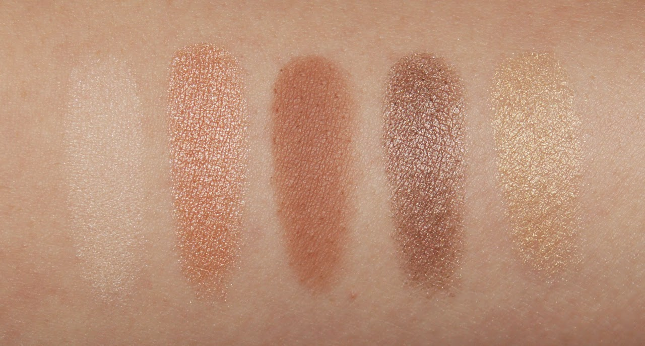 loreal la palette nude beige swatches