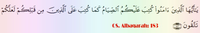 Ayat Kewajiban Puasa Ramadhan