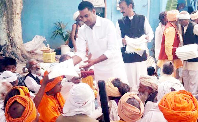 Sadhu-Saints show man's path of truth: Nayanpal Rawat