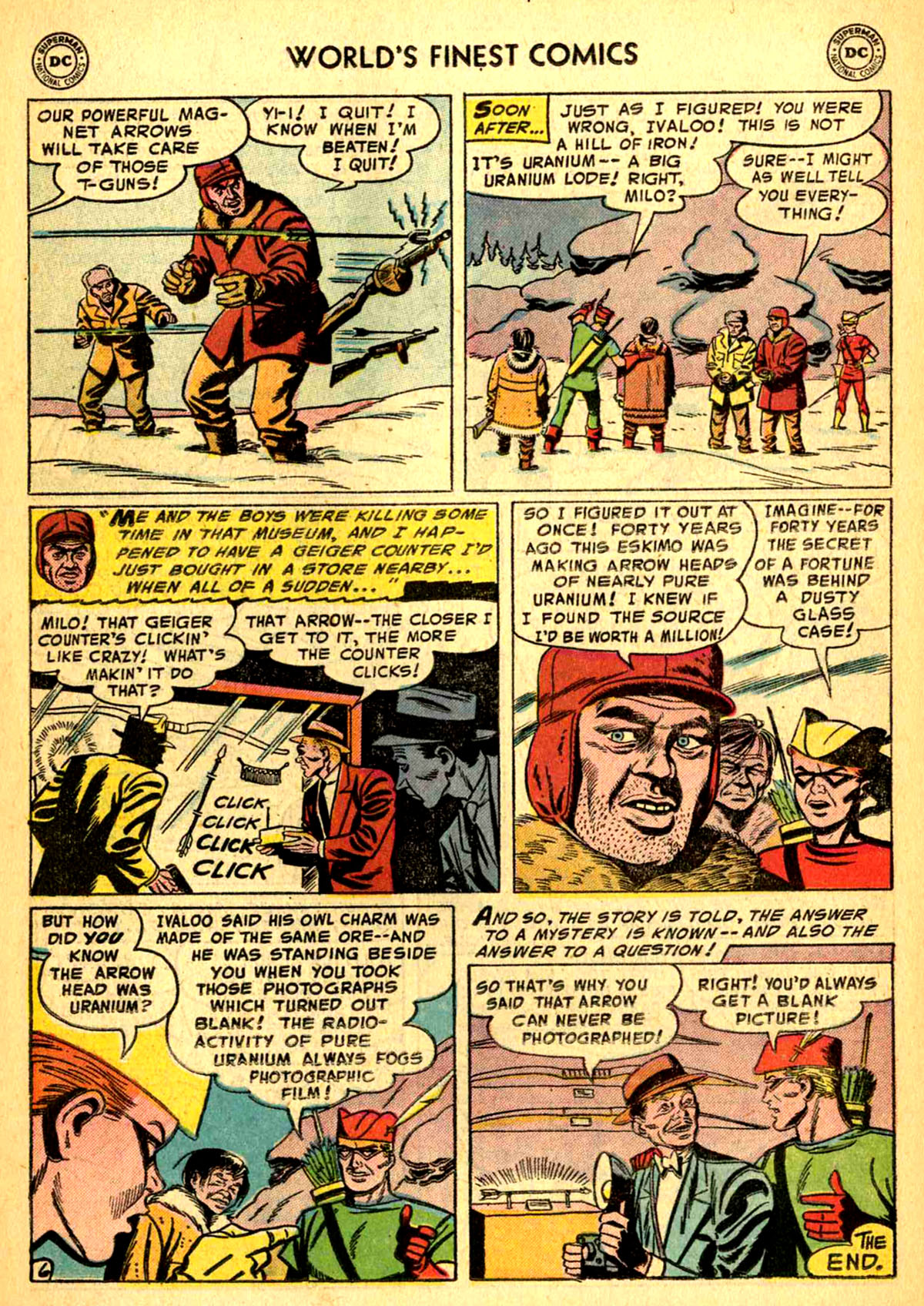 Read online World's Finest Comics comic -  Issue #77 - 22