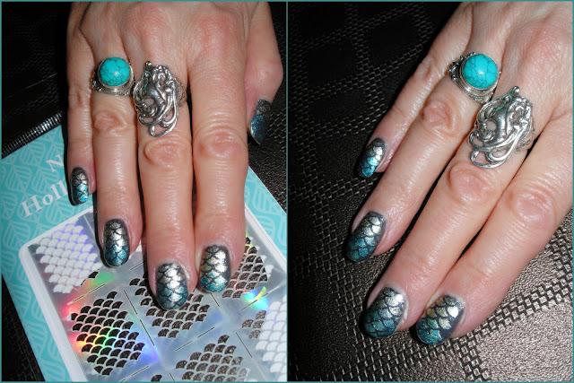 Stencils pour déco des ongles «Nail Vinyls»