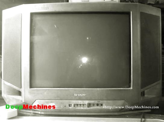 Perbaikan Kerusakan Protek pada TV Sharp 14V20D