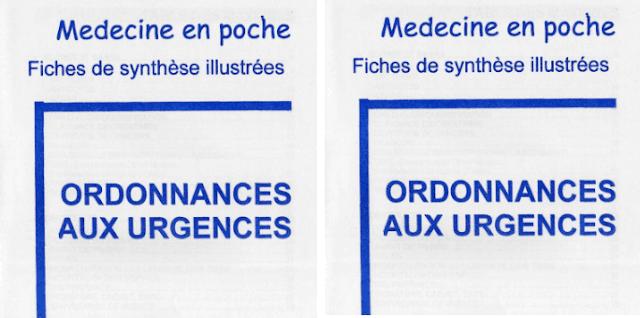Ordonnances aux Urgences PDF gratuit
