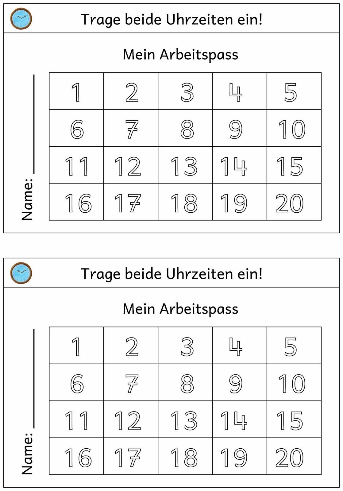 Lernstubchen Uhrenkartei