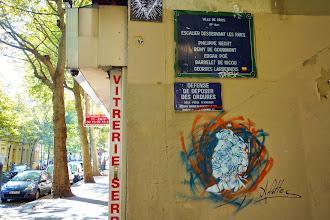 Sunday Street Art : Arlette - avenue Simon Bolivar - Paris 19