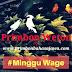 Primbon Jawa Weton Minggu Wage