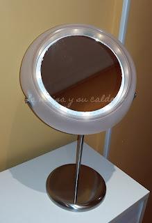 Espejo para maquillaje DiY - Con peana