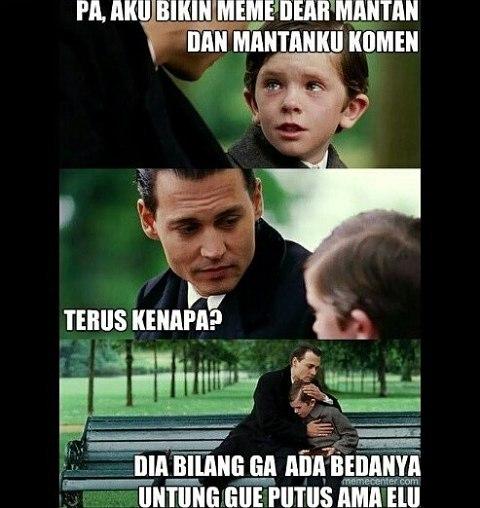 Meme Dear Mantan panjul
