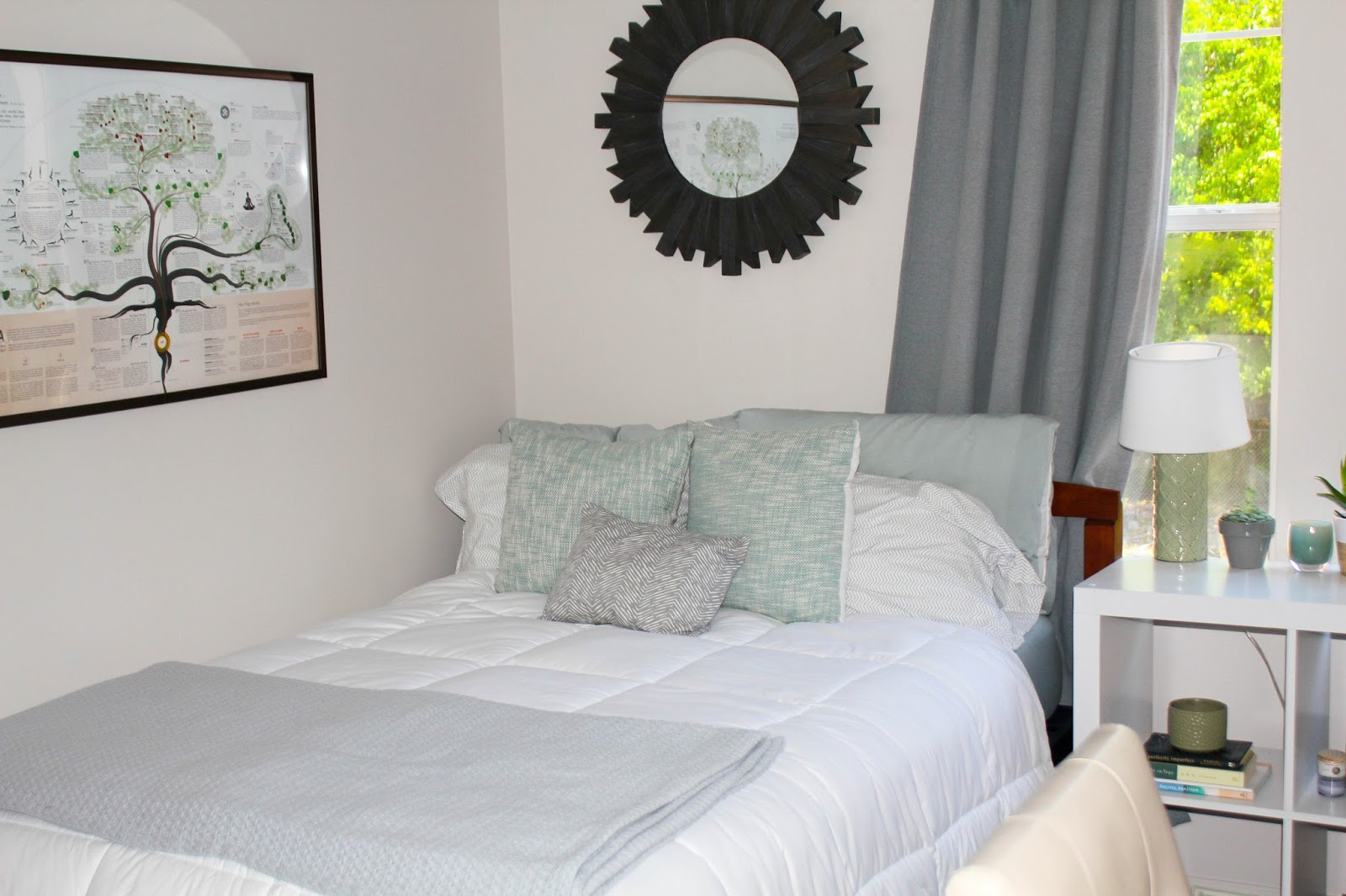 prep in your step: apartment tour week: sophia's room