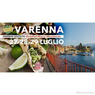 Street Food Festival 27-28-29 luglio Varenna (LC)