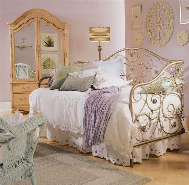 bedroom glamor ideas vintage retro