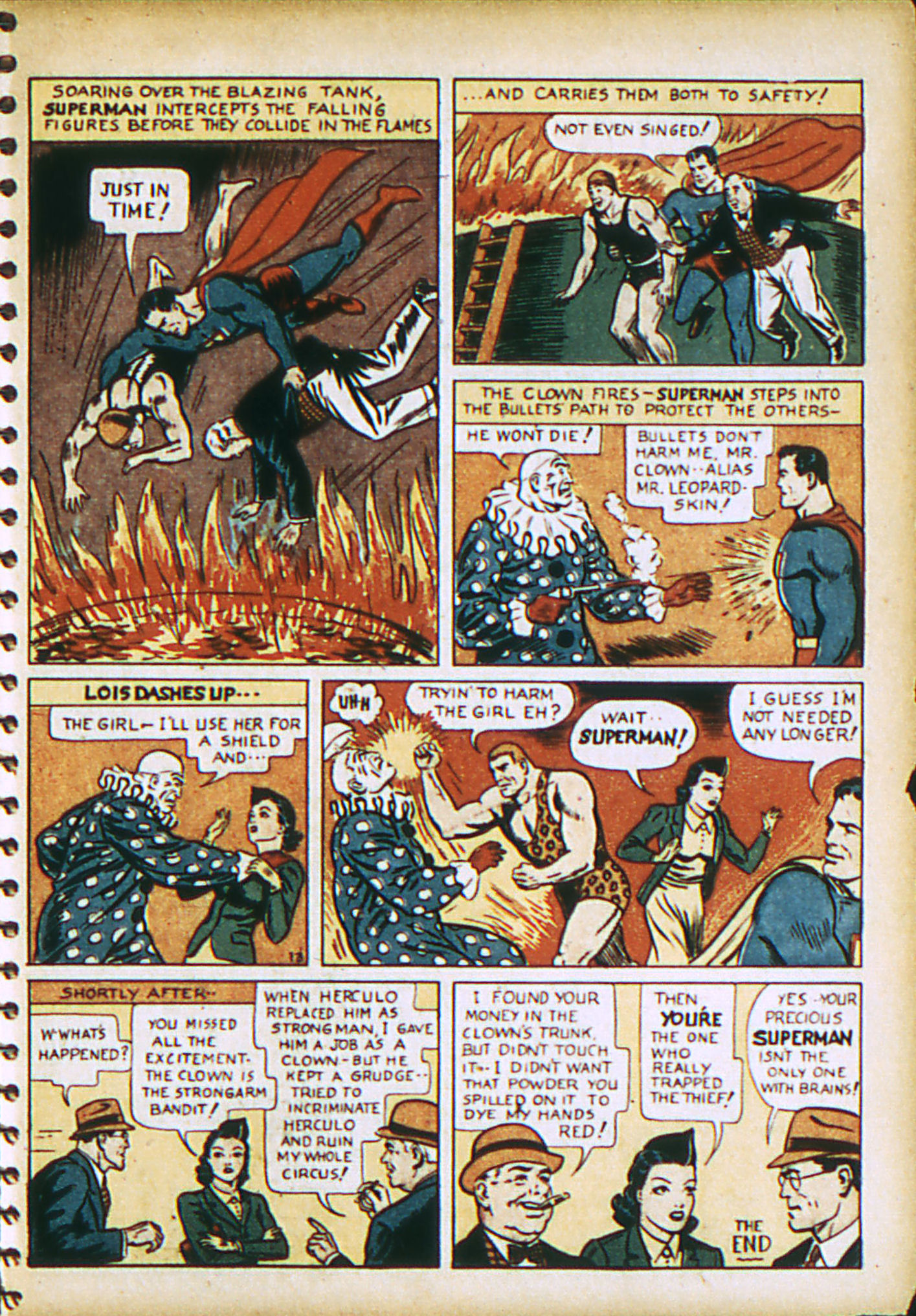 Read online Action Comics (1938) comic -  Issue #28 - 16