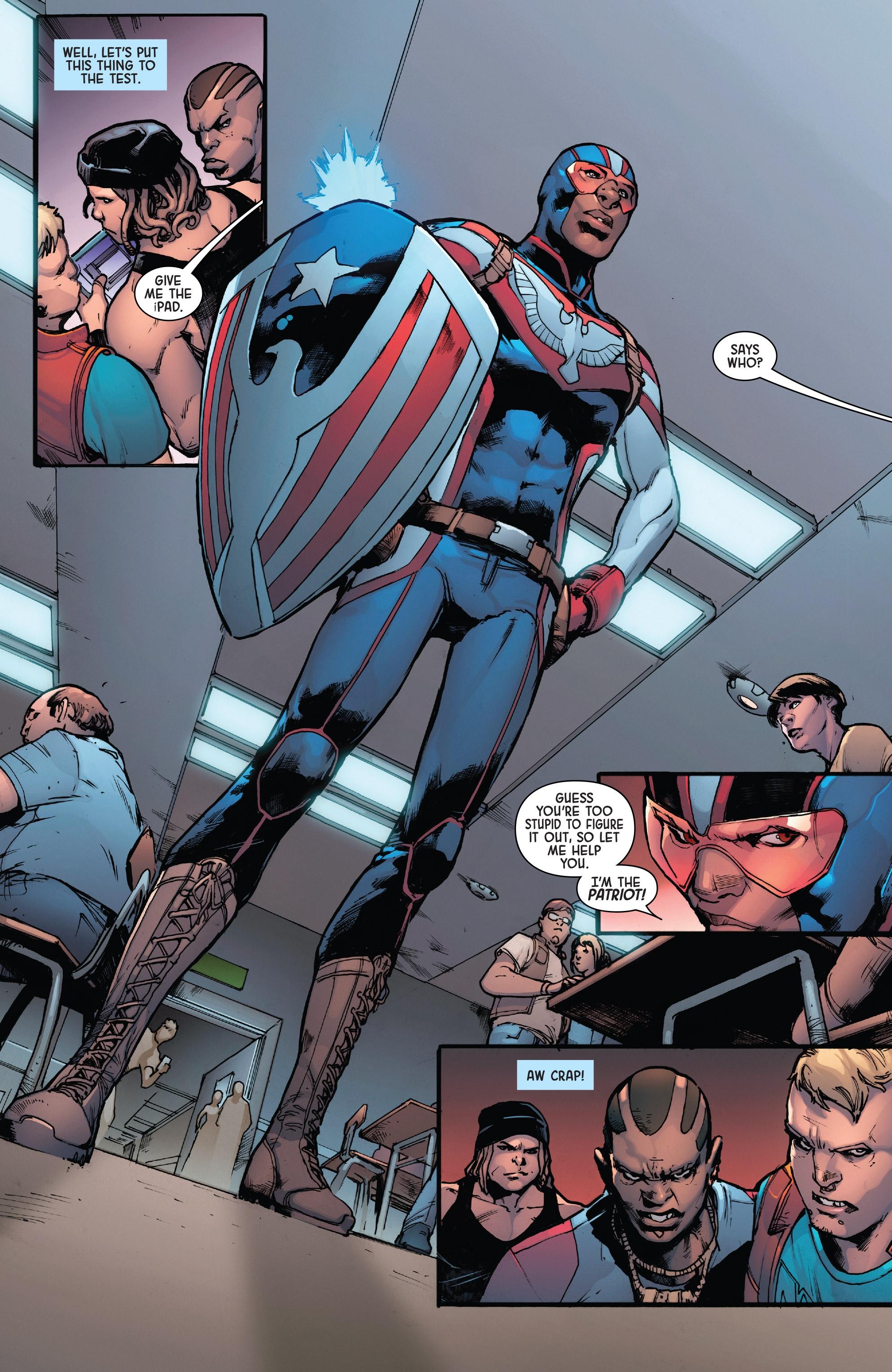 Read online Secret Empire: Brave New World comic -  Issue #2 - 9