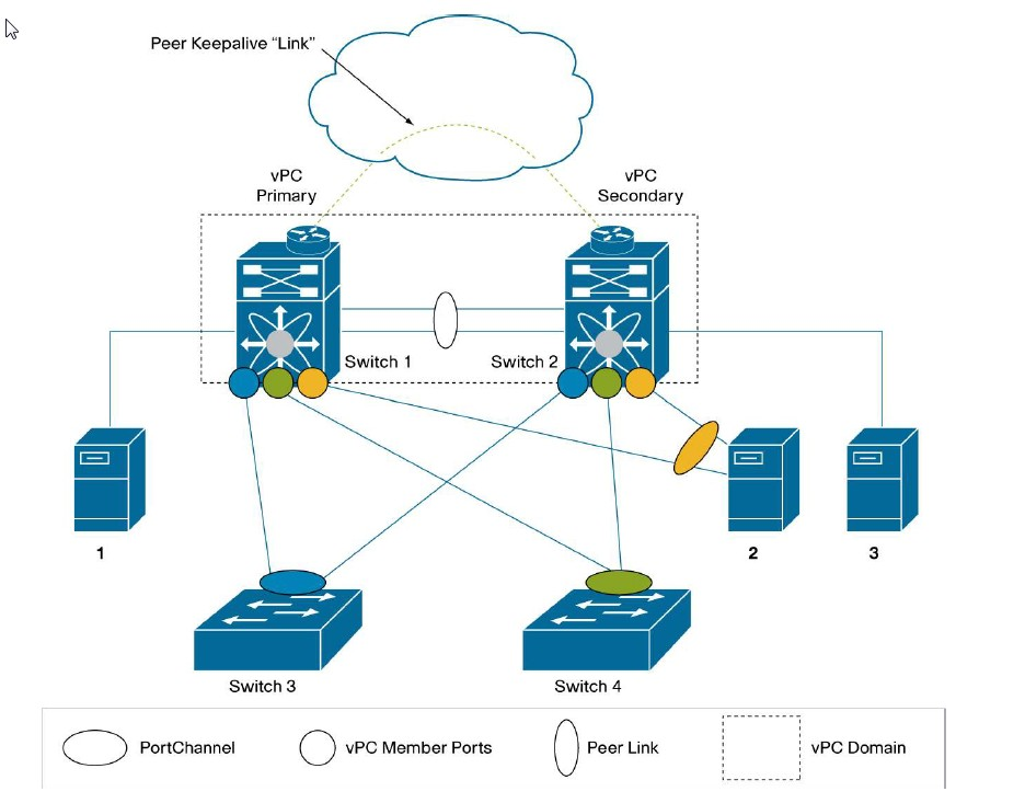 dual home connection from a server to 2 Nexus 5K switches