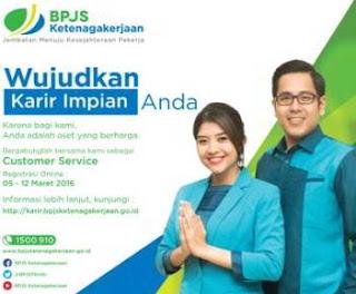 Lowongan Kerja Customer Service Officer BPJS Ketenagakerjaan